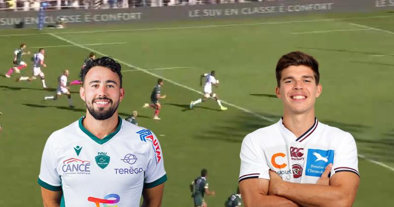 """VIDEO. TOP 14. Match fou entre l'UBB et Pau ! Le """"Jalibert effect"""" a encore frappé !"""