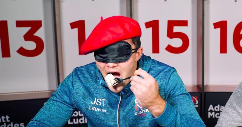 WTF - Les joueurs de l'Ulster frisent l'indigestion en testant des plats français [Vidéo]
