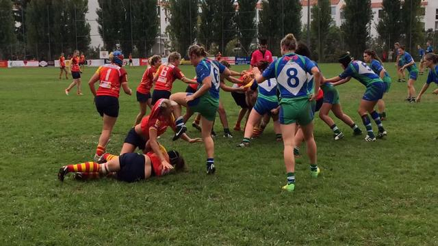 VIDEO. Ultimate fighting ? Non, rugby féminin entre l'USAP et Lille