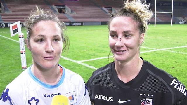 VIDEO. Top 8 Féminin. Un derby d'Occitanie très spécial pour les sœurs Peyronnet