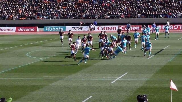 VIDEO. Un énorme bouchon amène à l'essai de Yoshikazu Fujita au Japon
