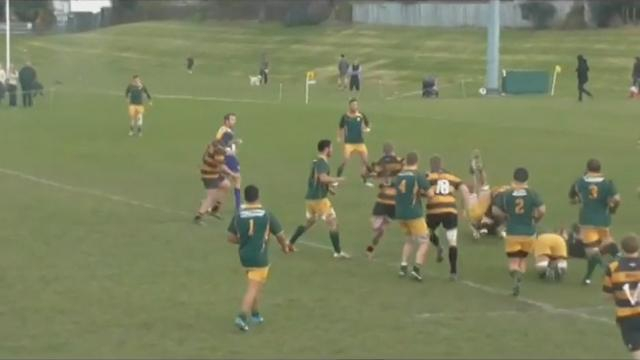 VIDEO. Le rugby pour les nuls - Leçon 2 : Comment faire fusionner son adversaire avec la pelouse