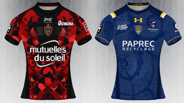 PHOTOS. Un graphiste imagine les futurs maillots de rugby pour la saison 2017/2018