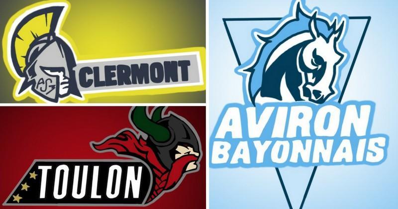 Top 14 versus NBA - Les logos des clubs à l'américaine dessinés par un fan [PHOTO]