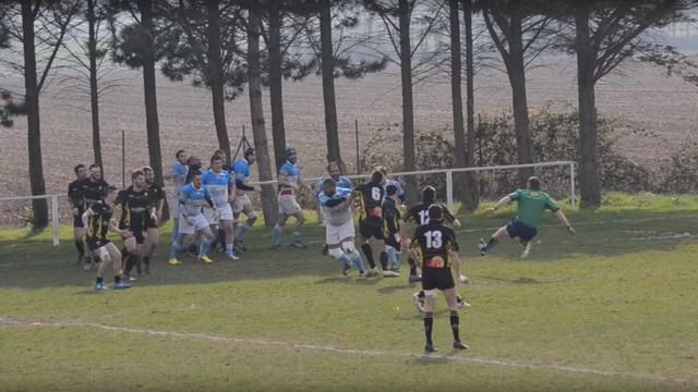 VIDEO. Rugby Amateur #86. Un troisième ligne envoie l'arbitre sur les fesses avec une poussette