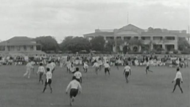VIDEO. Un extrait exclusif d'un match de rugby aux Îles Fidji en 1929