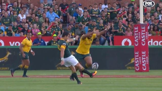 VIDÉO. RUGBY CHAMPIONSHIP. Un Morné Steyn impérial mène les Springboks à la victoire contre l'Australie