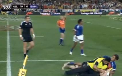 Rétro : Quand un streaker avait perturbé la finale du tournoi de Wellington en Seven
