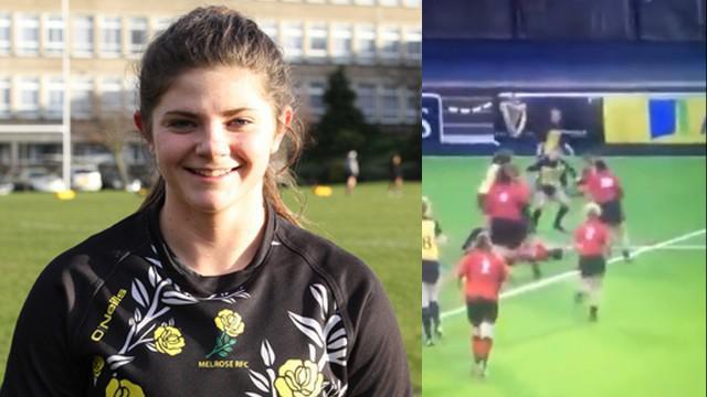 VIDEO. Rugby amateur #49 : Une jeune Écossaise punit son adversaire avec un énorme raffut