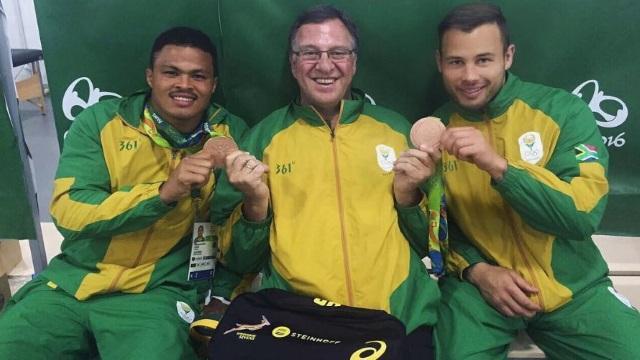 JEUX OLYMPIQUES - Afrique du Sud : François Hougaard récupère une médaille de bronze