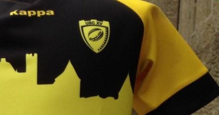 PHOTO. Pro D2 : l'US Carcassonne dévoile ses nouveaux maillots pour la saison 2017-2018