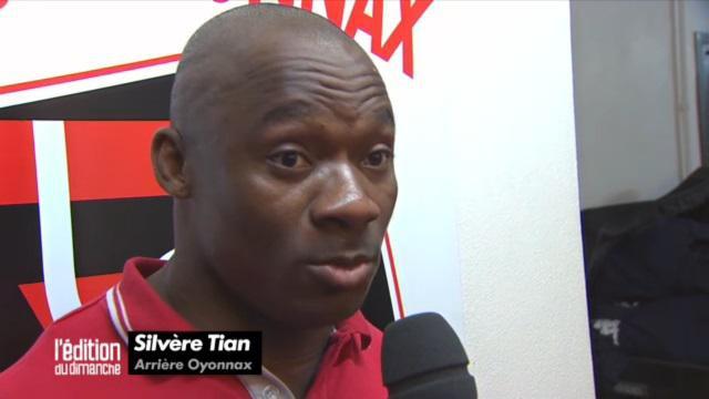 US Oyonnax : Silvère Tian mis à pied par son club