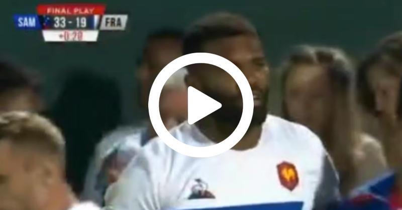 France 7 défaite par les Samoa en finale du Challenge Trophy à Dubaï [VIDÉO]