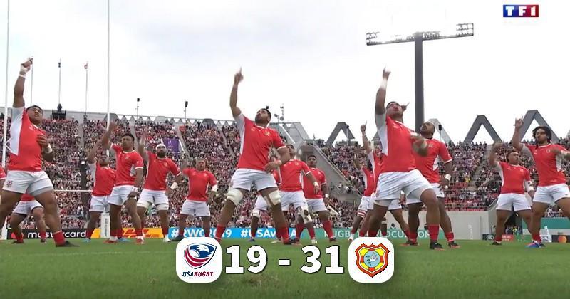 Coupe du monde - Victoire bonifiée pour l'honneur des Tonga sur les USA