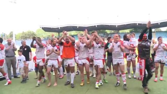 VIDEO. Fédérale1. Le Lille Métropole Rugby inflige à Montauban sa première défaite de la saison en demi-finale
