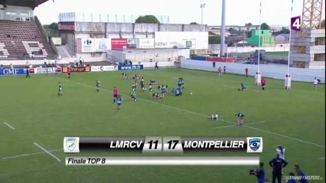 Vidéo. Top 8 : Les filles du MRC championnes de France après leur victoire contre Lille