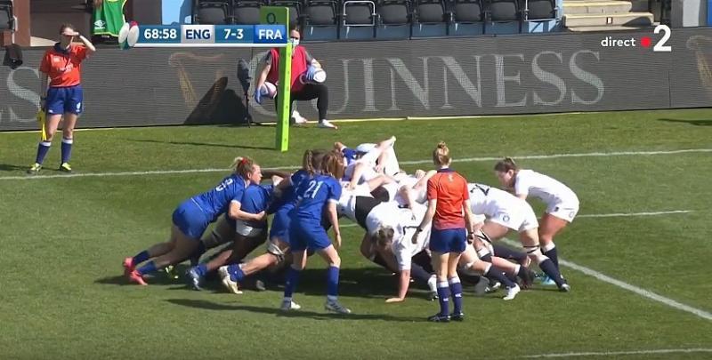 VIDEO. 6 Nations féminin. Dominatrices en mêlée, les Bleues s'inclinent de peu en finale
