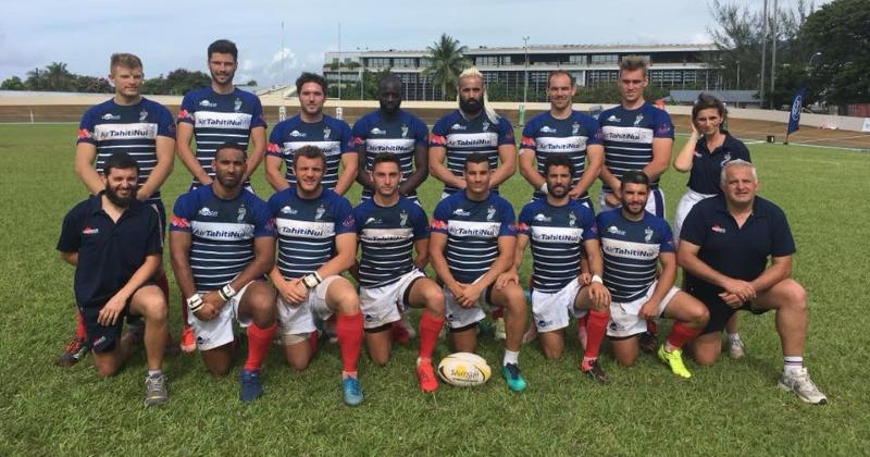 VIDÉO. Avec le ''Thor Français'' dans ses rangs, les Bleus Sevens triomphent au Tahiti 7s