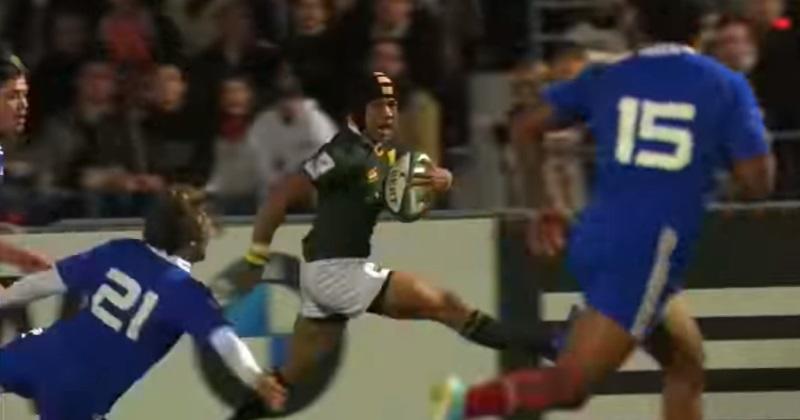 VIDÉO - En 2013, Cheslin Kolbe avait fait l'amour à la défense de France U20 !