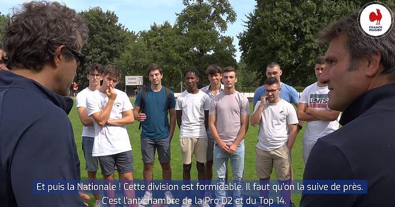 VIDEO. Fabien Galthié à la recherche du prochain ovni tricolore en Nationale ?