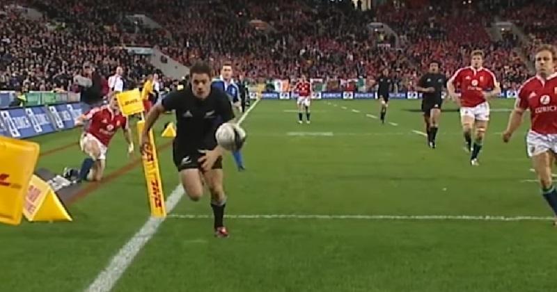 VIDÉO. FLASHBACK : en 2005, la légende Dan Carter était née face aux Lions britanniques