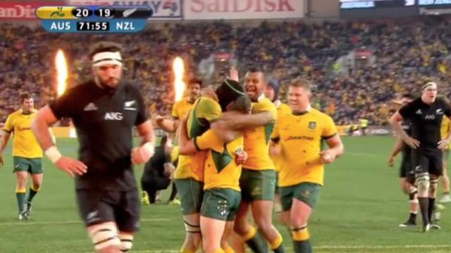 VIDÉO. L'Australie fait tomber les All Blacks et remporte le Rugby Championship