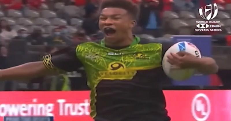 VIDEO. Moment historique pour le rugby jamaïcain sur le circuit mondial à 7