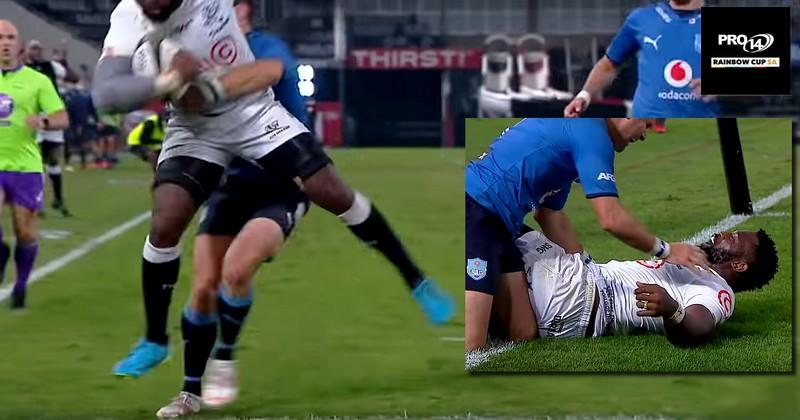 VIDEO. Morné Steyn tente de découper Siya Kolisi, puis ils rigolent en se faisant un câlin 😍
