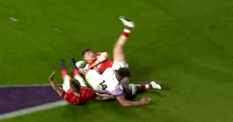 VIDÉO. Pays de Galles : l'essai de Gareth Anscombe était bien valable selon World Rugby