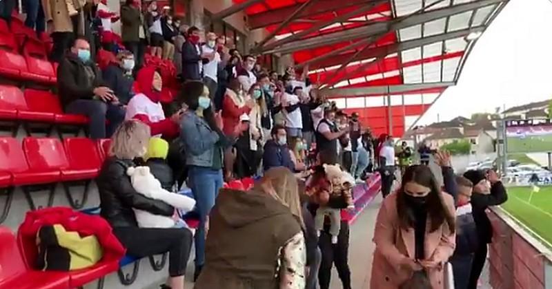 VIDEO. Pro D2. La tribune pleine de supporters à Aurillac provoque le questionnement
