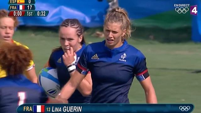 VIDÉO. Rio 2016. France 7 féminines corrige l'Espagne et jouera la 5ème place ce soir