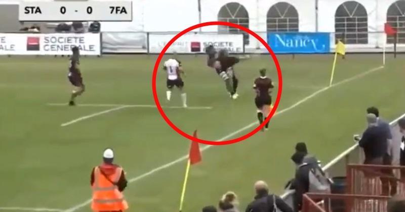 VIDÉO. Rugby à 7 : quand un plaquage se transforme... en ippon !