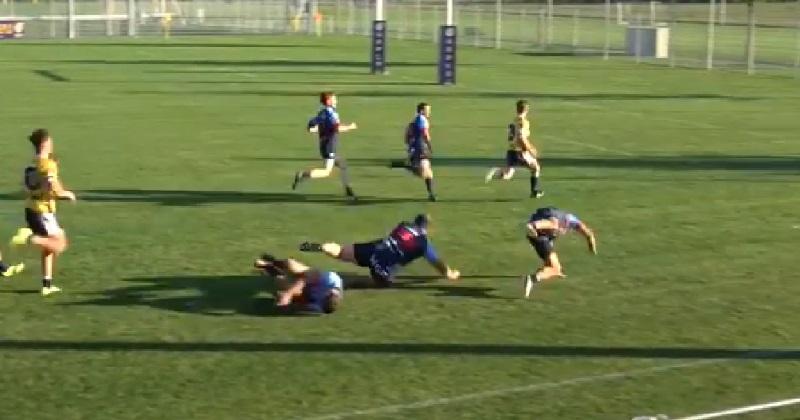 VIDÉO. Rugby Amateur : il casse trois genoux sur un seul et même crochet