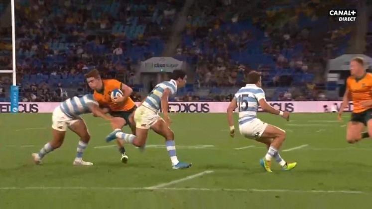 VIDEO. Rugby Championship. Le 4 à a la suite pour l'Australie grâce au triplé de Kellaway