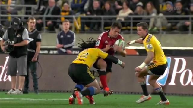 VIDEO. Super Rugby. RCT vs Racing-Métro ou quand Ma'a Nonu découpe Dan Carter