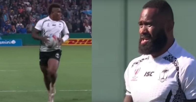 VIDÉO. Coupe du monde à 7 : Semi Radradra et Josua Tuisova terrorisent les défenses avec les Fidji