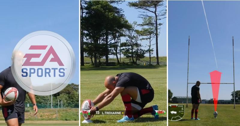 VIDÉO - Un joueur nous montre à quoi ressemblerait Rugby 08 dans la vraie vie !