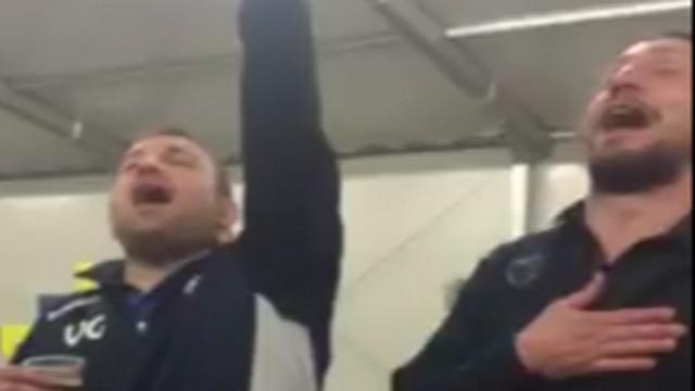 VIDEO. Rugby Amateur #87. Deux adversaires chantent en cœur après un match de Fédérale 1