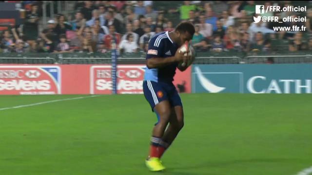 VIDEO. Rugby à 7. Virimi Vakatawa, la sensation de la tournée asiatique avec France 7