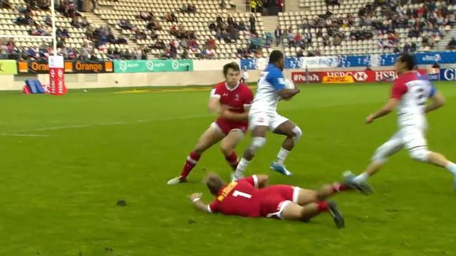 VIDEO. Paris 7s. Virimi Vakatawa et France 7 en démonstration face au Canada (42-5)
