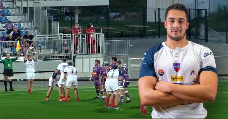 Vis ma vie de joueur amateur entre travail et rugby avec Ianis Ponsole (Blagnac)