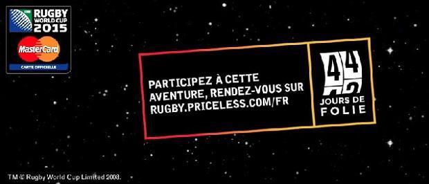 La planète devient ovale pendant la Coupe du Monde de Rugby 2015 avec MasterCard