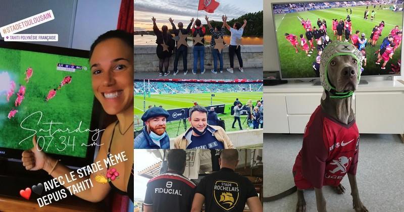 PHOTOS. Vos plus belles images de la finale de la Champions Cup entre Toulouse et La Rochelle