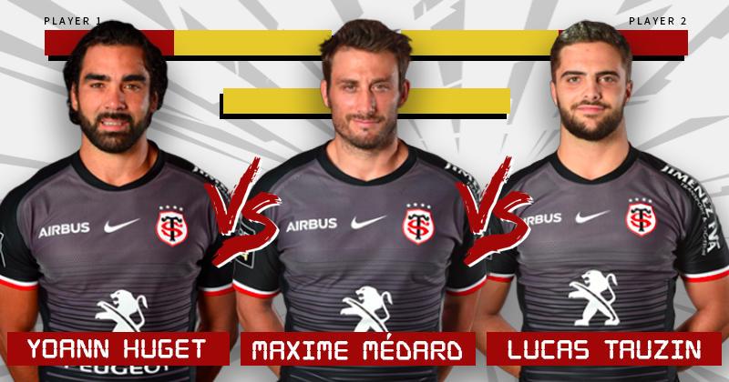 Champions Cup - Qui de Huget, Médard ou Tauzin occupera l'aile pour la 1/2 ?