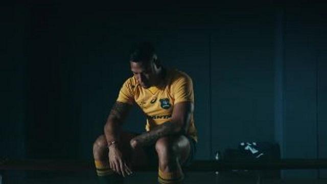 WALLABIES : l'Australie dévoile son nouveau maillot pour la saison 2017 !