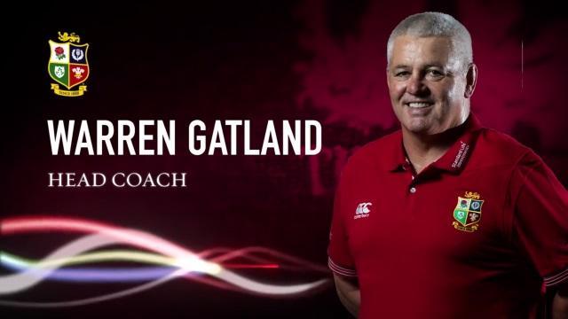 VIDEO. Warren Gatland nommé entraîneur des Lions britanniques et irlandais pour la tournée 2017