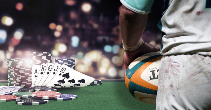 Jouez contre d'autres rugbymen à ce tournoi (gratuit) de Poker en ligne !
