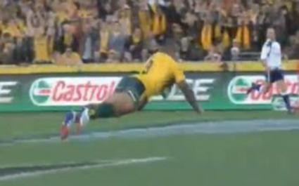 VIDEO. L'essai de 60 mètres en solo de Will Genia face aux All Blacks