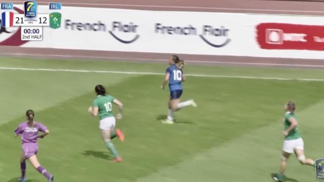 VIDÉO. Women Sevens Grand Prix. Les Françaises en finale après leur victoire contre l'Irlande