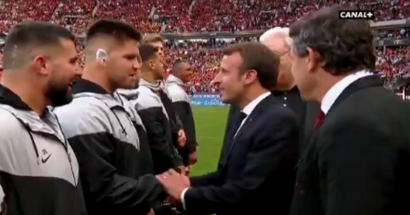Finale du Top 14 : quand le Toulousain Van Dyk demande la nationalité française à Macron